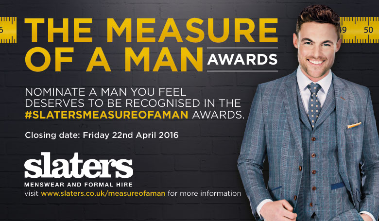 Slaters Bristol Measure of a Man Awards